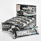 Vegane Proteinriegel veePRO | 20g Eiweiß, 27% Ballaststoffe | Low Carb Eiweißriegel | Gesunder &...