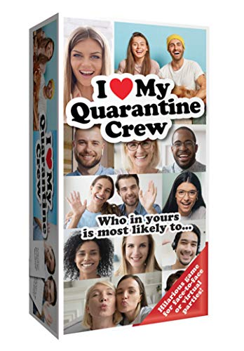 IMAGINATION GAMING Quarantine Crew Adult Card Game, Hilarious Virtual Video Call or Face-to-Face Group Party Game, Remote Home Entertainment, Friends, Family, Get The Banter Started