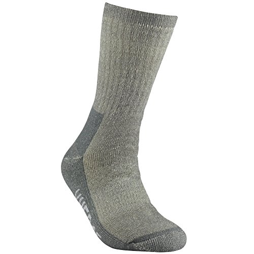 YUEDGE Women Cushion Wool Crew Socks Merino Wool Hiking Trekking Crew Socks(1 Paris Gray)