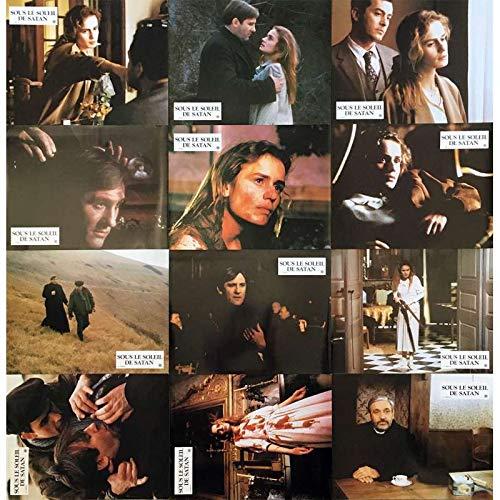 SOUS LE SOLEIL DE SATAN Photos de film x12-21x30 cm. - 1987 - Gérard Depardieu, Maurice Pialat
