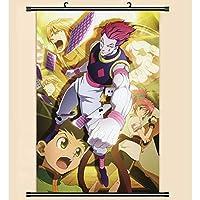 ハンター×ハンターアニメポスターウォールスクロールハンギングペインティングアートプリントペインティングウォールスクロールポスター 50x75cm