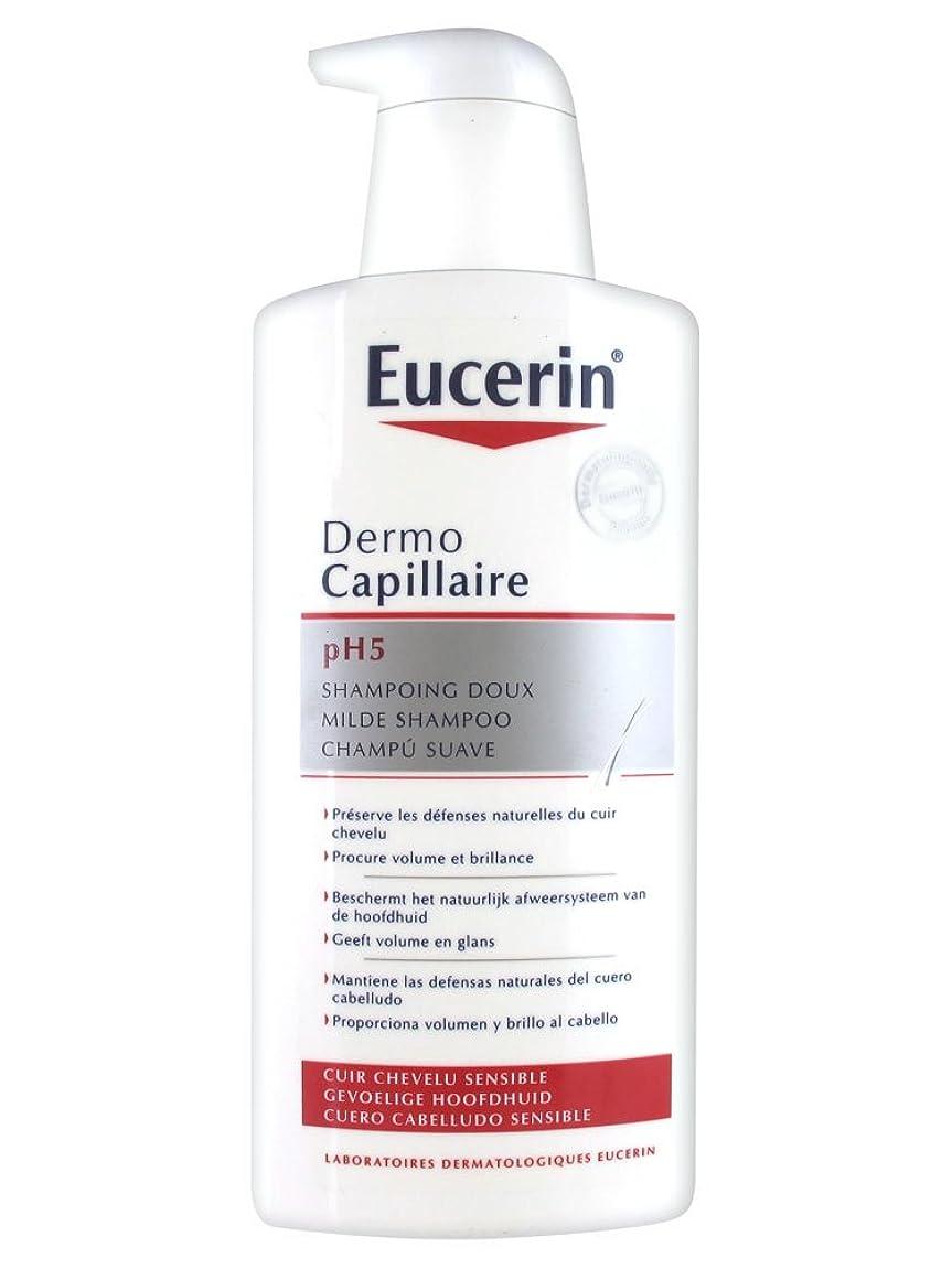 依存する干渉地味なEucerin Dermo Capillary pH 5ジェントルシャンプー400ml