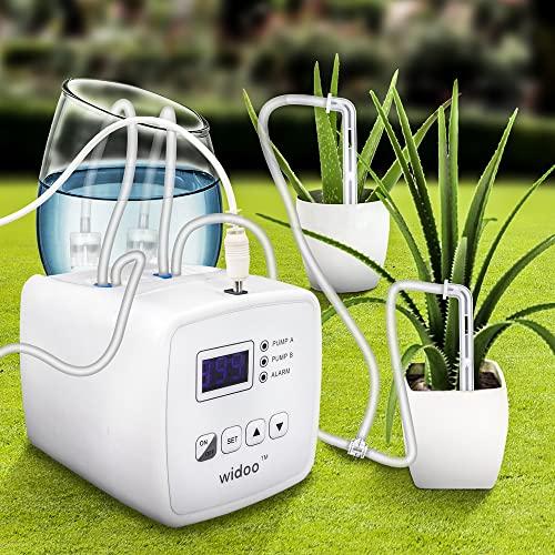 PEALOV Sistema di Irrigazione Automatica con Serbatoio,Kit di Irrigazione Fai-da-Te per Piante da...