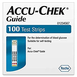 buy Accu Chek Guide Test Strips 100 Blood Test Strips