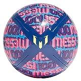 adidas Messi CLB Balón, Juventud Unisex, AZUVIC/AZUFOC/ROSSHO/Amasol (Multicolor), 38
