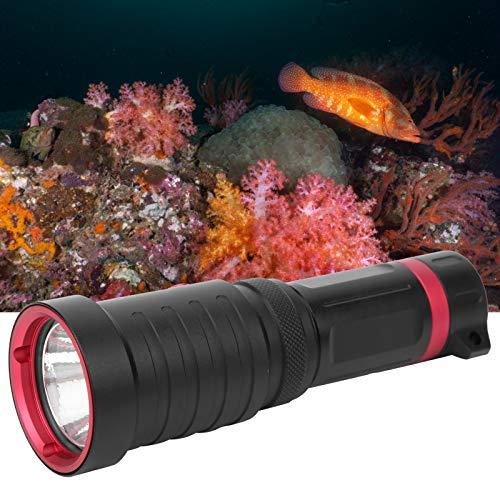 Torcia subacquea con design a tre bruciature Torcia a fuoco fisso con super luminosità, per campeggio, nuoto, escursionismo, caccia, pesca