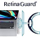 RetinaGuard MacBook Pro 16インチ (2019) ブルーライト防止スクリーンプロテクター、SGSとIntertekテスト済み、過度の有害なブルーライトをブロック、目の疲れや目の疲れを軽減。