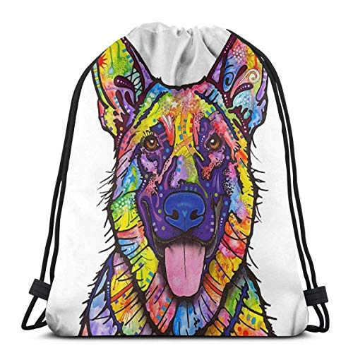 shenguang Cute Cactus Unisex Home Gym Sack Bag Bolsa de viaje con cordón