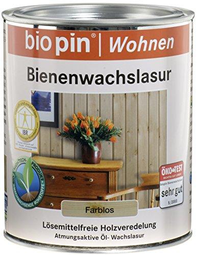 Biopin Bienenwachslasur-farblos-0,75 l