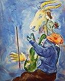 shmeksss Abstrakter Charakter Poster Kubismus Gemälde Marc
