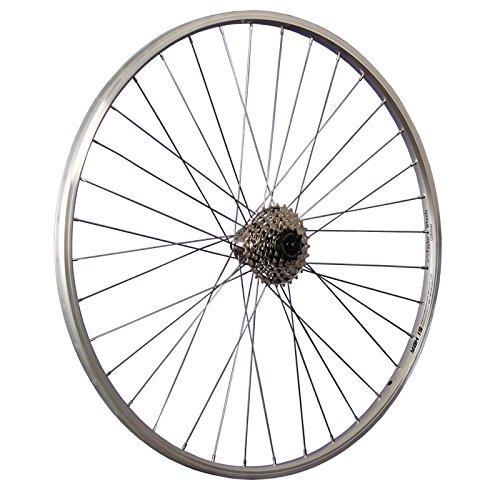 Taylor-Wheels 28 Zoll Hinterrad YAK19 / 7 Fach Kassette - Silber