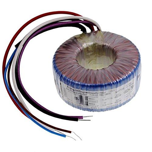 Ringkerntrafo 100VA 230V -> 2x115V 1x230V, Sedlbauer. RTO-826030