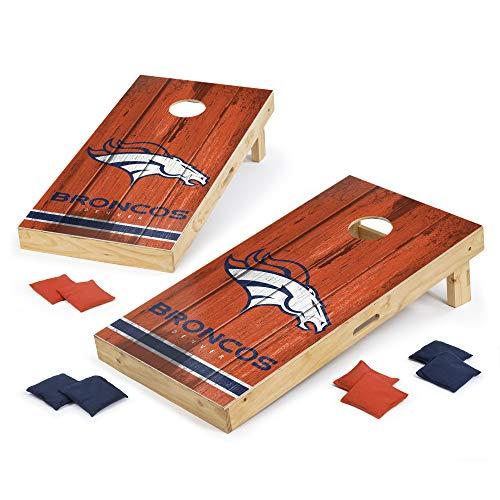 PROLINE NFL Denver Broncos 2'x4' Cornhole Board Set - Vintage Design