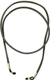 Baosity PU Leather Eyeglasses Sunglasses Chain Holder For Glasses Non-Slip Strap