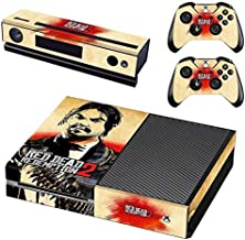 Tullia Xbox One Console and 2 Controllers Skin Set - Red Dead – Xbox One Vinyl