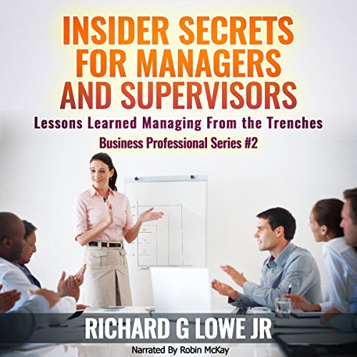 Insider Secrets for Managers and Supervisors audiobook cover art