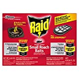 Raid Double Control Small Roach Baits Plus Egg Stopper, 12 CT (Pack -...