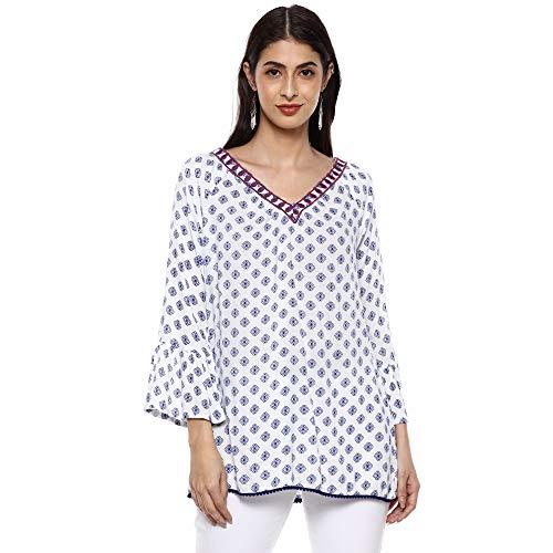 DJ&C by FBB Women's Plain Regular fit Shirt (DJWV 1040_Off...