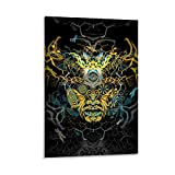 SHOUHUAN Psy Garden Kunst-Poster, dekoratives Gemälde,