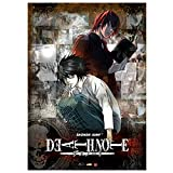 tealn Death Note Poster Anime Manga Comic Poster Painting for Wall Decoration Fans Gift(Multi2)