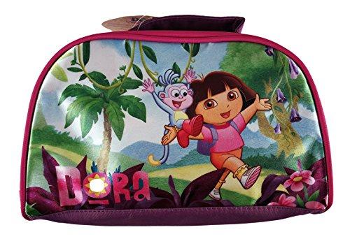 Dora La Explorer make-up tas voor kinderen, officieel gelicentieerd product, roze, 25 x 16 x 7 cm