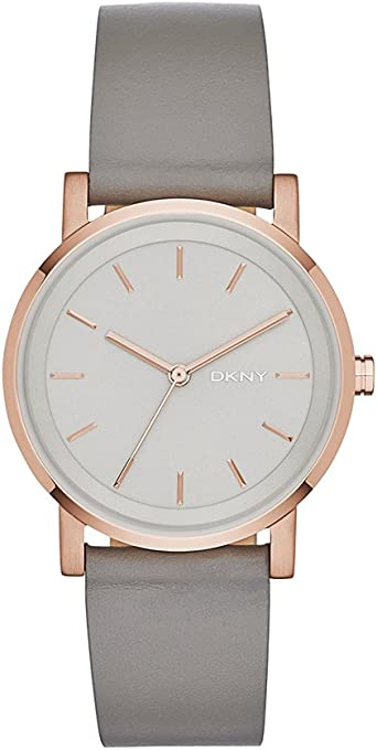DKNY Women's NY2341 SOHO Analog Quartz Grey Watch