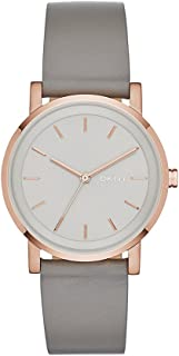 DKNY Women's Soho Stainless Steel Dress Quartz Watch