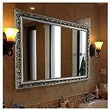Hans&Alice Bathroom Mirrors for Wall (Silver, 32'x24')