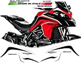 Kit de Pegatinas para Ducati Multistrada 950-1200 Dvt Rojo