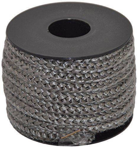 Corderie Italiane 006026280 Treccia in Fibra Vetro Grigia, 6 mm, 5 m