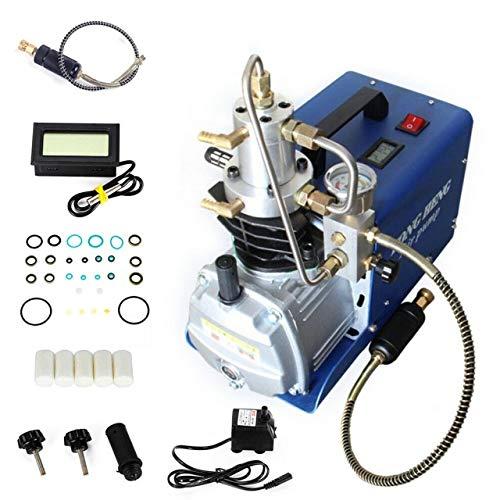 Pressluft Kompressor Hochdruckkompressor Elektrisch PCP Luftkompressor Pumpe Hochdruckluftpumpe bis 300 Bar/4500PSI