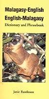 Malagasy-English, English-Malagasy: Dictionary and Phrasebook (Hippocrene Dictionary & Phrasebook)