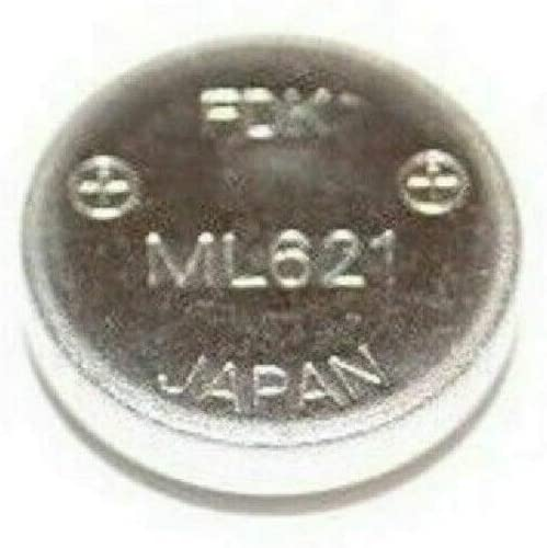 Jacksonville Mall Secondary Coin security Lithium Battery FDK ML621 Sony for DCR DEV Camera