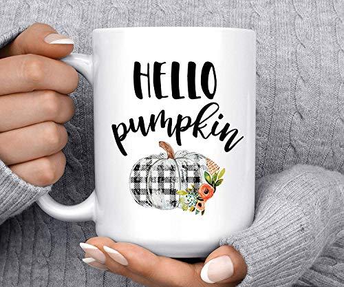 Mattanch Kaffee Haferl Hallo Kürbis-Herbst-Becher Kürbis-Becher Fall-Becher Gutenmorgen-Kürbis-niedlicher Becher Halloween-Becher