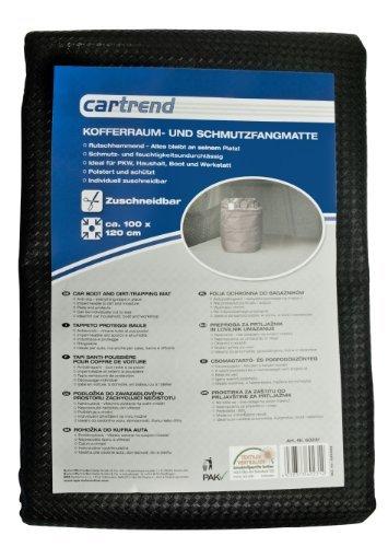Cartrend 60231 Alfombrilla de maletero con alfombrilla absorbe suciedad, tamaño 100 x...