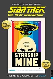 Star Trek 2020 Poster Calendar: The Next Generation Posters by Juan Ortiz