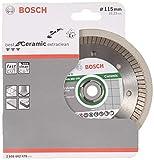 Bosch Professional - Disco de corte de diamante Best for Ceramic Extra-Clean Turbo, 115 x 22.23 x...