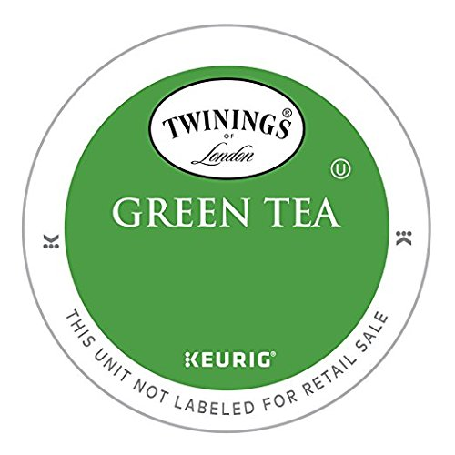 Twinings Green Tea single serve capsules for Keurig K-Cup pod brewers (48 Count)