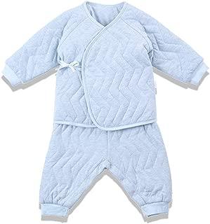 i-baby Completi in Cotone Bambino Set Neonato Pigiami Due Pezzi Set Camicie da Notte Pantaloni Premium Pima Manica Lunga