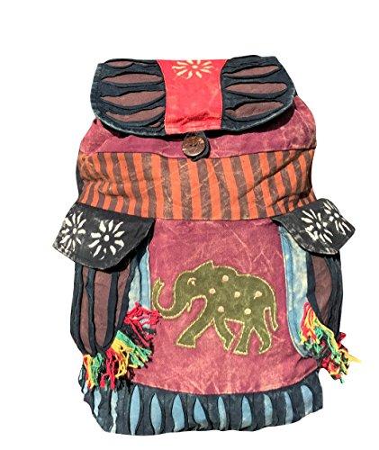 Harrington Marley, Damen Rucksackhandtasche Mehrfarbig Multi