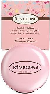 Rivecowe Sebum Control Convenient Compact Cc Powder Pact by Rivecowe