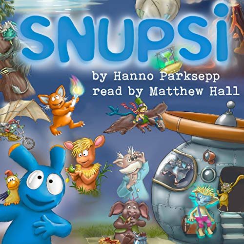 Snupsi audiobook cover art