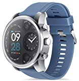 Smart Watch for Men Women, Fitness Tracker with Heart Rate Monitor, Blood Pressure, Blood Oxygen, Pedometer, Tide Sports Watch with IP68 Waterproof, Compatible iOS and Android
