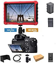 Lilliput A7s 7-inch 1920x1200 HD IPS Screen 500cd/m2 Camera Field Monitor 4K HDMI Input Output Video for DSLR Mirrorless Camera with Battery and Charger