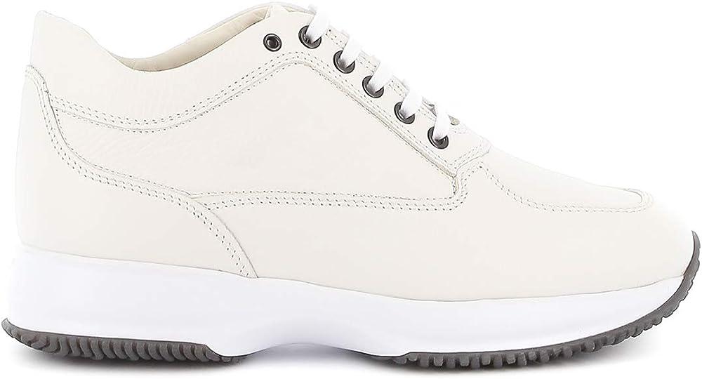 Hogan interactive sneakers per uomo in pelle HXM00N09041L11B001