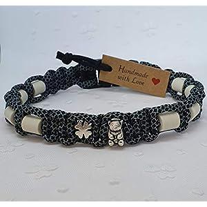 EM-Keramik-Halsband für Hunde/EM – Hundehalsband/EM Band – Teddy