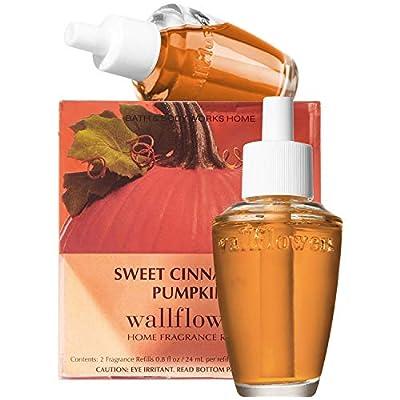 Sweet Cinnamon Pumpkin Wallflowers - SIX Refill Bulbs - Bath & Body Works