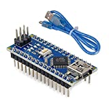Microcontroller ATmega328P Operating Voltage (logic level) 5 V Input Voltage (recommended) 7V-12V Digital I/O Pins 14 (of which 6 provide PWM output) Flash Memory 32 KB (ATmega328) of which 2 KB used by bootloader