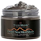 Dead Sea Mud Mask Natural 500 gr Face and Body Skin Care, Minerals Nature Skincare Spa for Women, Men - Deep Skin Cleanser, Reduces Blackheads, Acne and Pores, Oily Skin, Double Size - 17.6 Oz