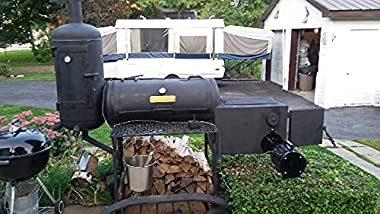 The Perfect Draft BBQ Blower - Automatic Temperature Control, Reduces Cooking Time, Use Less Wood
